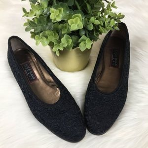 Cole Haan Made in Italy Black Flats Size 9